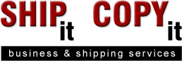 Ship It Copy It Telluride Colorado logo